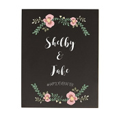 Personalised Wedding Chalkboard Sign