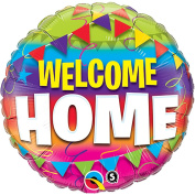 "Qualatex ""Welcome Home"" Foil Party Balloon, 46cm"