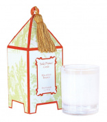 Seda France Classic Toile Mini Pagoda Box Candle, Malaysian, 60ml