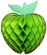 3-pack 18cm Honeycomb Tissue Paper Apple Fruit Decoration
