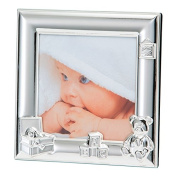 Kenro Toy Box 10cm x 10cm Photo Frame Silver [BFB1010S]