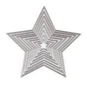KUUQA Cutting Dies Stencil Metal Template Mould - Star