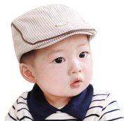 Ularma Adorable Baby Infant Boy Girl Stripe Beret Cap Peaked Baseball Hat