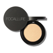 Gracefulvara Long Lasting Anti-sweat Breathable Highlighter Powder Foundation 02#