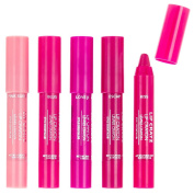 Style Essentials Crazy Lip Crayons, 5 Count