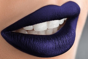 Royal Blue Liquid Matte Lipstick, Power - A Waterproof Lipstick That Does Not Smudge or Budge