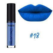 SHERUI Beauty Waterproof Matte Liquid Lipstick Long Lasting Lip Gloss Lipstick #18