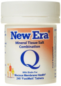 New Era Combination Q Mineral Cell Salts (TISSUE SALTS) 240 Tablets MUCOUS MEMBRANE HEALTH