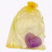 Exfoliating Gloves and Konjac Sponge set -Hammam Exfoliating Glove Premium -Konjac Sponge All Natural Korean Facial Sponge -Yellow
