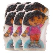 Spongeables 90ml, 20 Plus Uses, Dora The Explorer Body-Wash Infused Sponge - 6 Sponges