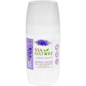 Via Nature Deodorant - Roll On - Lavender Eucalyptus - 70ml
