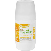 Via Nature Deodorant - Roll On - Sweet Orange Lemongrass - 70ml