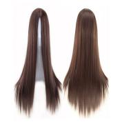 Longlove 75cm Long Hair Heat Resistant Straight Cosplay Wig