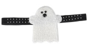 19cm HALLOWEEN SEQUIN ELASTIC GHOST HEADBAND