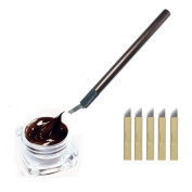 VANKER Microblading Permanent 3D Makeup Eyebrow Tattoo Needle Pen Pigment Kit