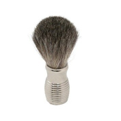 Pure Badger Shaving Brush with Chrome Handle