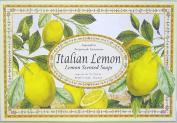 """Saponificio Artigianale Fiorentino """"Limone"""" Italian Lemon 9 Bar Soap Gift Set, 80ml each"""