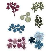 Heartfelt Creations Wildwood Florals Die HCD1-7125