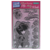 Sweet Dixie A6 Clear Stamp Set - SDCSA6130 Lily Make A Wish