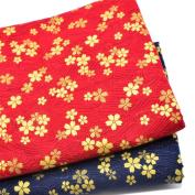 iNee Fat Quarters Quilting Fabric Bundles, 46cm x 60cm ,