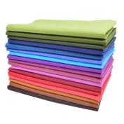 iNee 17 Fat Quarters Quilting Fabric Bundles, Quilter's Fabric, 46cm x 60cm ,
