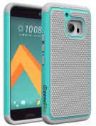 HTC 10 Case, GreenElec Hybrid Dual Layer Armour Defender Protective Case With Shock-Absorption Anti-Scratch Shockproof for HTC 10 / HTC One M10 (Release 2016)