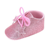 Kingko Cute Little Shoes Baby Girl's Crib Shoes Newborn Flower Soft Sole Anti-slip Baby Sneakers Multicolor Available