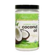 Naterre USDA Certified Organic Coconut Oil Virgin 950ml - Unrefined for Cooking, Baking, Skin, Hair, Beauty