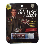 "Blue Q Gag Gift ""Intant British Accent"" Breath Spray by Blue Q"