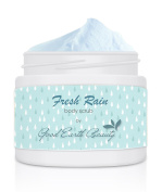 Body Scrub Fresh Rain - all natural sugar scrub by Good Earth Beauty 120ml Jar