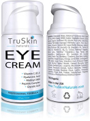 TruSkin Naturals Eye Cream – Anti-Ageing Formula Hydrates, Protects & Revitalises Delicate Skin Around Eyes - 15ml