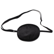 M-Aimee Elastic Silk Eye Patch for Adults Lazy Eye Amblyopia Strabismus (2 Pack)