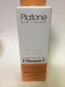 Platone New Zealand Vitalizing Eye Serum enriched with Vitamin C ( Naturally soothing with native New Zealand plant extracts ) with Anti-oxidants . / 30 ml