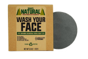 Sam's Natural Charcoal Face Soap - Face Wash - Cleansing Face Soap - Natural - Vegan and Cruelty Free - America's Favourite