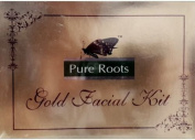 Pure Roots Gold Facial Kit tm 100Gm 100Gm