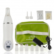 Personal Diamond Microdermabrasion Device by Aostyle, Utilises Pore Vacuum Extraction to Promote Skin Health & Facial Renewal