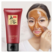 Pore Deep Cleansing Gel,FTXJ Blackhead Acne Remove Purifying Peel Off Facial Mask