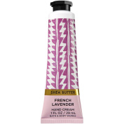 Bath and Body Works French Lavender Hand Cream with Shea Butter and Vitamin E (Travel Size) 30ml