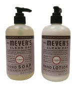 Mrs. Meyer Lavender Hand Lotion (350ml) and Hand Soap (370ml) bundle