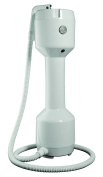 SunFX Pro Tower Spray Tan System with Hose and Applicator - White