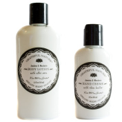 Kiss Me In The Garden Body Lotion and Hand Creme Gift Set - Grateful Nature