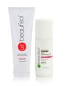 Beautisol Sunless Face Tanner & Exfoliation Kit for Dry Skin