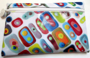 Klari Ipsy Bag March 2014 Zippered Cosmetics Case Colourful