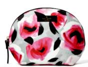 Kate Spade Keri Shore Street Floral Cosmetic Make-up Travel Bag Case