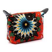Mosunx(TM) Travel Make Up Cosmetic Pouch Bag Clutch Handbag Casual Purse