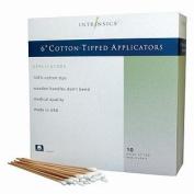 Intrinsics Cotton Applicator Swabs, 15cm 1000 ea