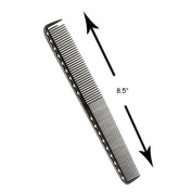 YS Park 335 Extra Long Fine Cutting Comb In GRAPHITE From ProHairTools by Y.S.Park