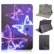 Leather Stand Case ,Fheaven Universal Leather Flip Case Cover For 18cm Android Tablet PC