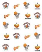 40 Sports Basketball Mom Nail Art Designs Decals