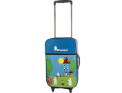 Moomin House with Moomin Characters Children's Wheeled Trolley Bag Suitcase Travel Bag Hand Luggage